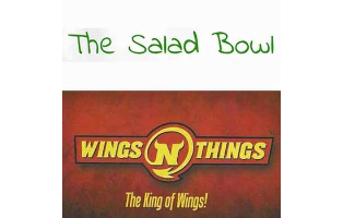 Wings 'N' Things/The Salad Bowl - $50 Voucher