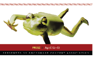 Anchorage Concert Association - Family Four Pack of Tickets to Frogz